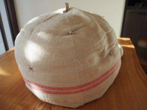 鍋帽子という名前の鍋保温グッズ