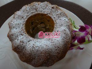にんじん1本まるごと入った「あずきとキャロット」のケーキ