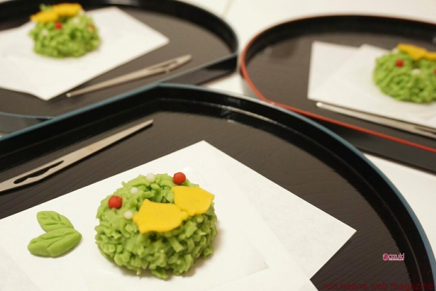 鎌倉創作和菓子【手毬】で、初心者も楽しく季節の和菓子づくり体験