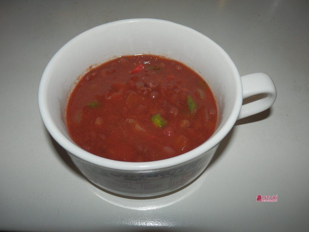 加藤先生の小豆レシピ あずきミネストローネ