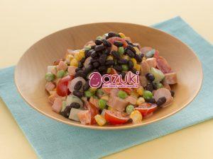 煮小豆レシピ サラダ