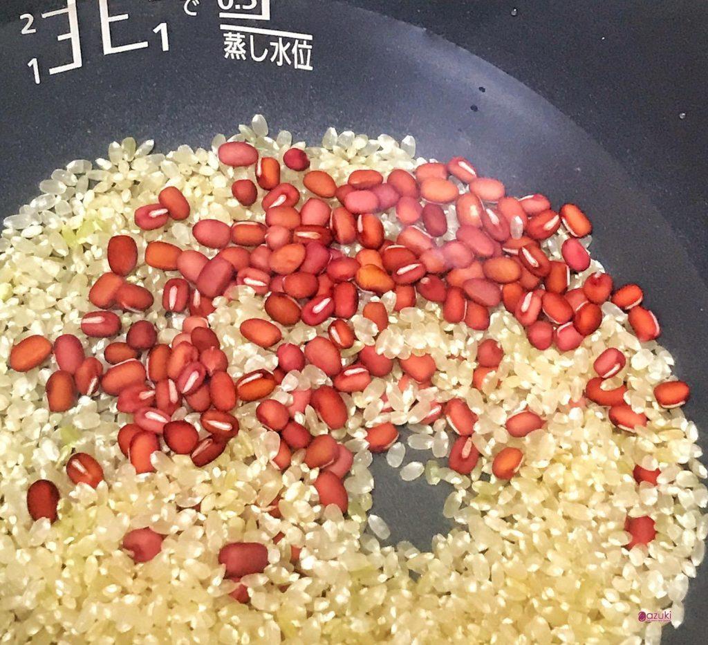小豆玄米がゆ