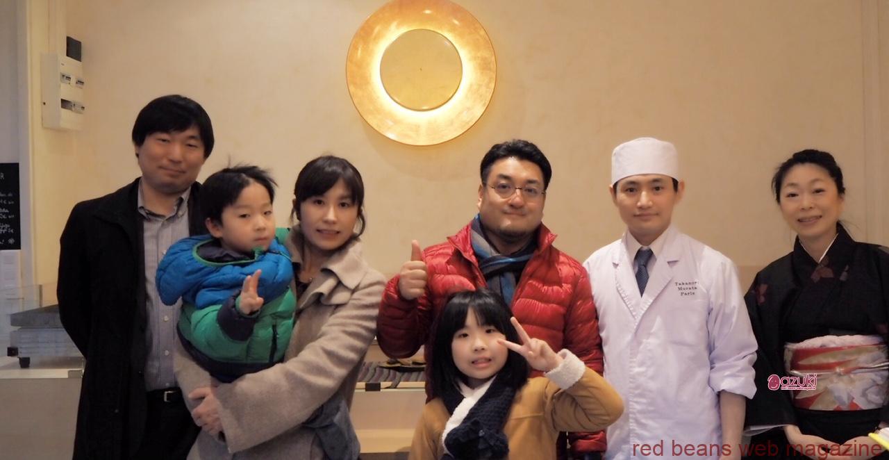 森田農場の森田哲也さん、森田里絵さんご家族と、村田崇徳さん、そして、こんかいのイベントをコーディネートしてくださった渡辺さんと、お手伝いの和田です。