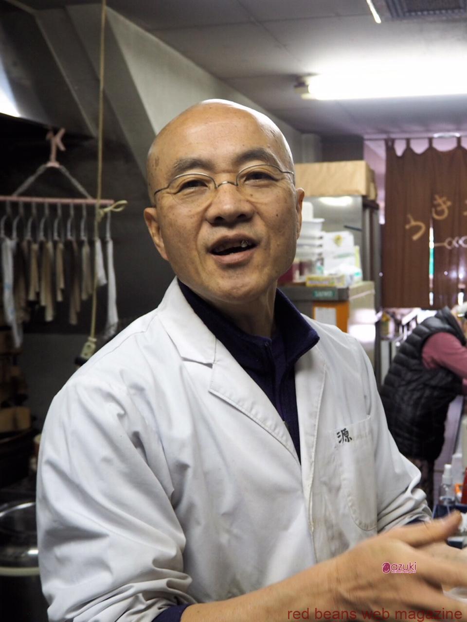 和菓子は、和やかな気持になる菓子なんだよ、とはなしてくださる岩崎健一さん