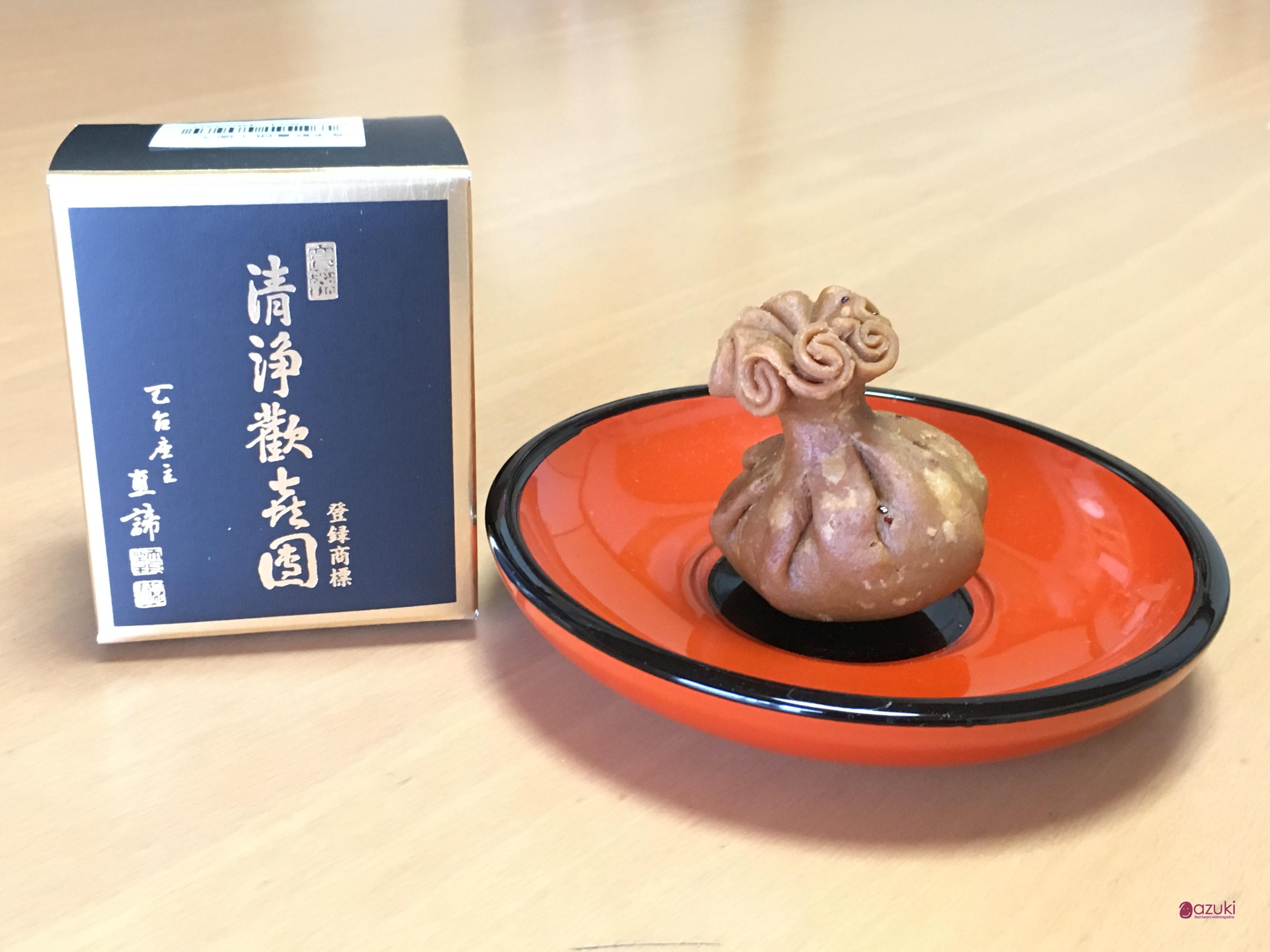 京菓子のルーツ 亀屋清永 清浄歓喜団