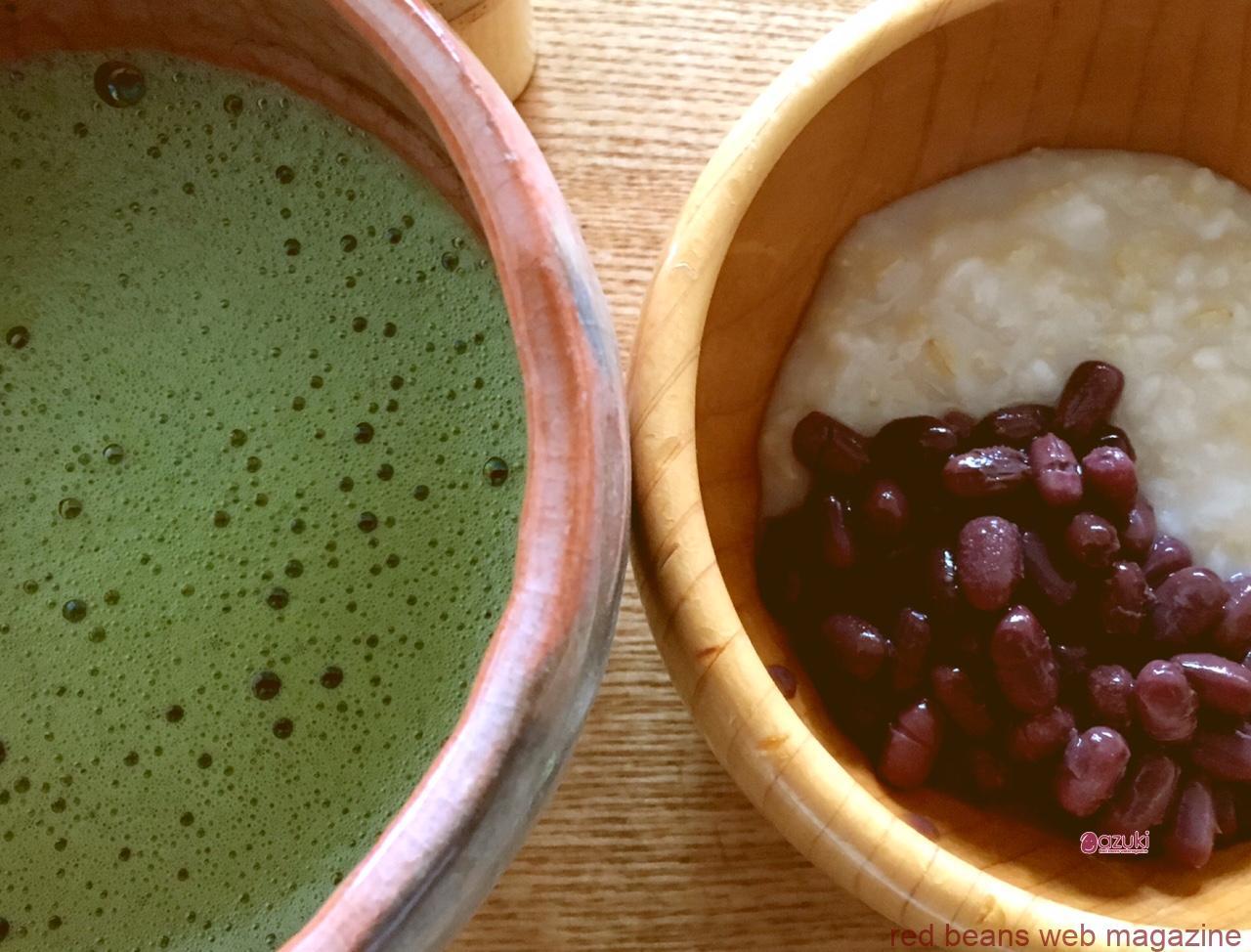 小豆と抹茶と甘酒の、身体にいいおやつで日本を感じよう!  ----日本を伝える国際交流イベントで、抹茶シャカシャカ体験できます----