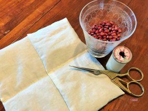 小豆のアイピロー内袋