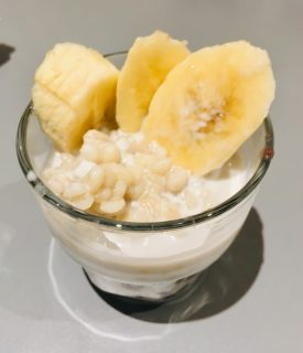 【レシピ】小豆ともち麦のチェ