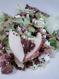 小豆の秋サラダ