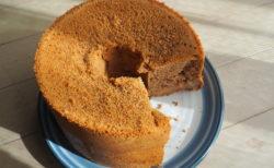 【グルテンフリー】小豆粉でつくるシフォンケーキ
